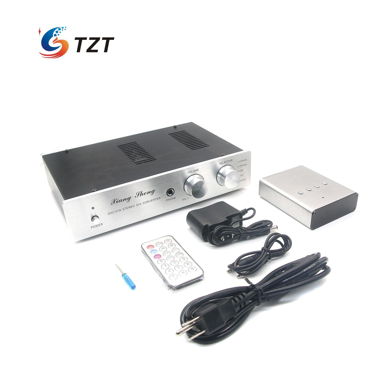 XiangSheng DAC-01A DAC Amplifier XMOS-U8 USB with Bluetooth Receiver Audio AMP Silver/Black audia flight three s usb dac silver