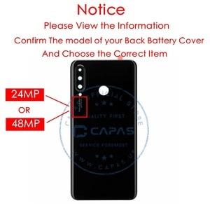 Image 2 - Ban đầu Cho Huawei P30 Lite Pin + Kính Cường Lực 24MP/48MP Cho Huawei Nova 4E Cửa Sau thay thế Chi Tiết Sửa Chữa