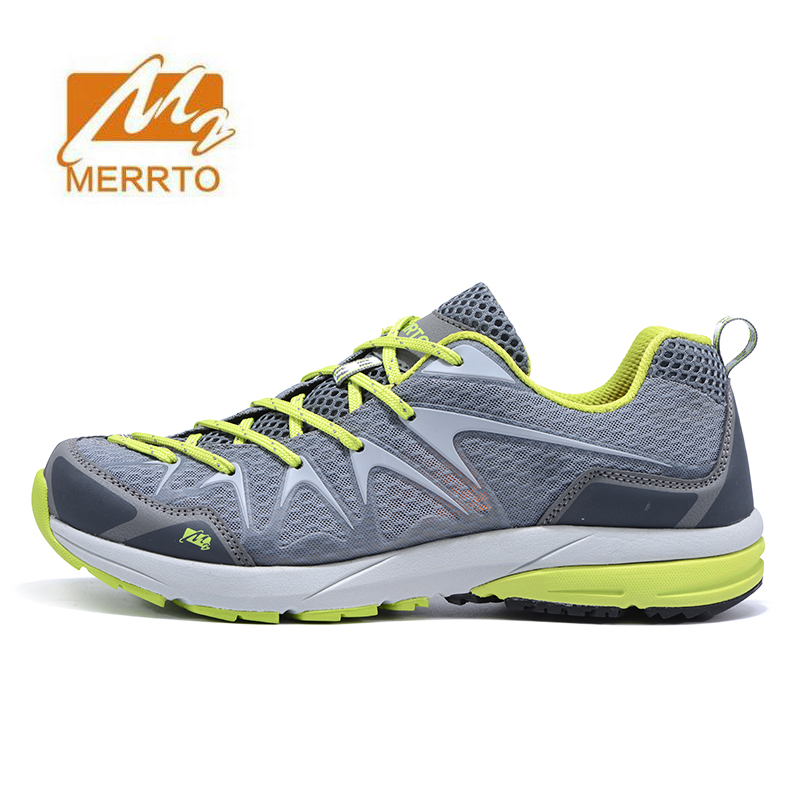 MERRTO Men's Spring And Summer Outdoor Trekking Hiking Shoes Sneakers For Men Mesh Sports Climbing Mountain Shoes Man Senderismo famous brand men s leather outdoor trekking hiking shoes sneakers for men sports climbing mountain shoes sneaker man senderismo