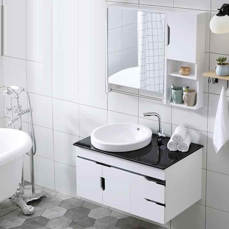 Merveilleux ... Lavabo Dolap D Zenleyici Schoenenkast Toilette Banyo Dolaplar Vanity  Meuble Salle De Bain Banheiro Mobile Bagno ...