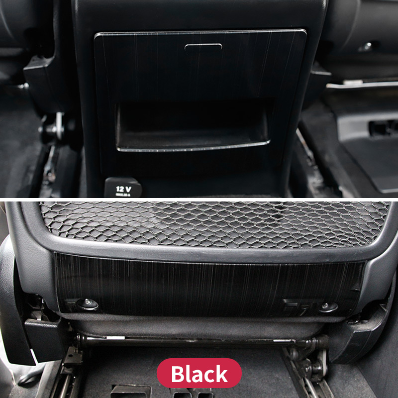 For Mercedes Benz GL320 350 450 GLS X166 Ml350 320 GLE W166 Coupe C292 Main Driving Seat Fiber Trim Cover  Sticker Accessories
