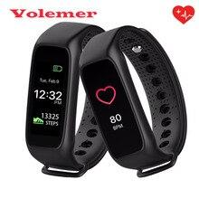 Volemer L30T Цвет Экран Bluetooth Smart Браслет RGB Дисплей монитор сердечного ритма cardiaco SmartBand фитнес-трекер PK ID107