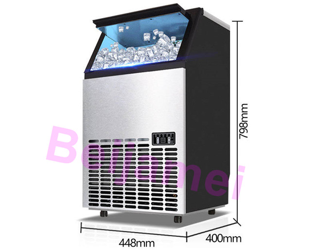 ice maker size