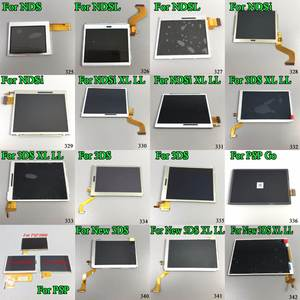 13b95a9ae5e For 3DS XL LL Replacement Top   bottom LCD Display Pantalla For NDSL Screen  for PSP