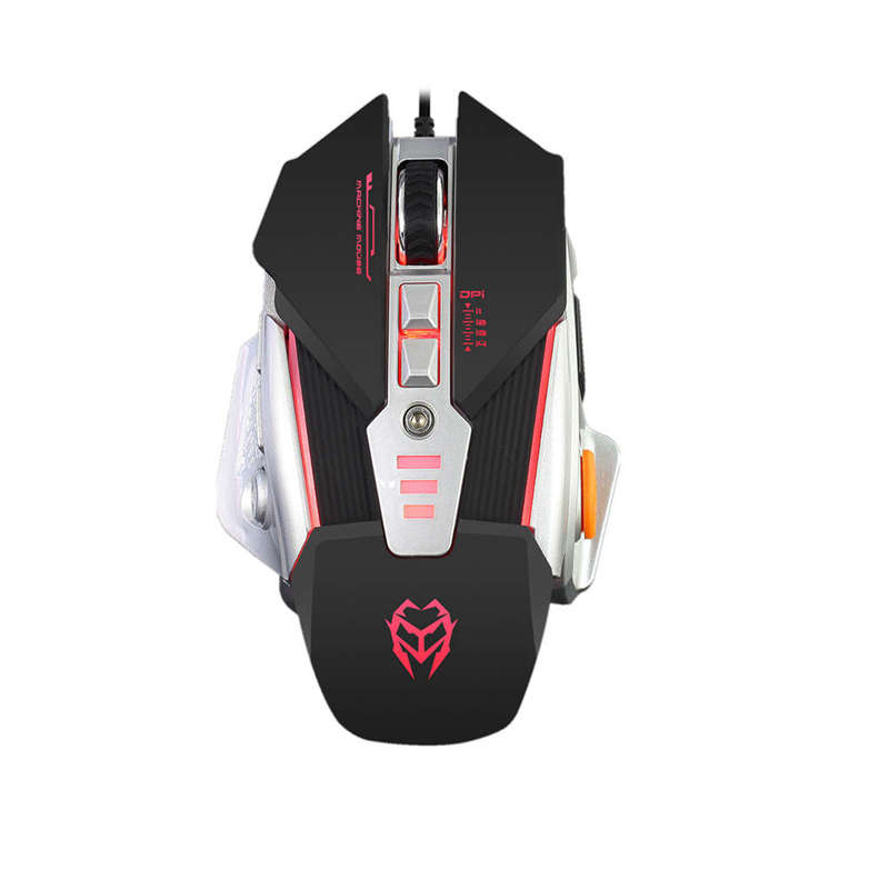 G15 New Wired Gaming Mouse Professional Macro Program Gamer 8 Buttons Usb Optical Computer Game Mice For Pc Laptop Desktop(China)