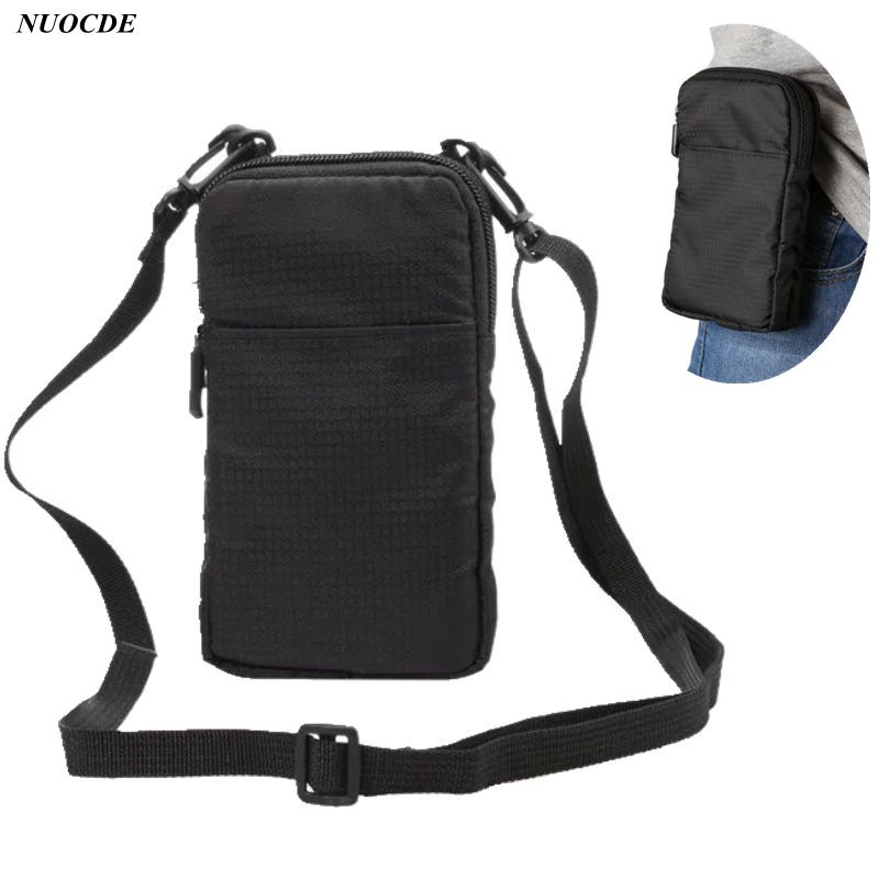 Universal Fashion Sports Wallet Mobile Phone Bag For iPhone Huawei Xiaomi Samsung Pocket Bag Outdoor Phone Shoulder Bag Holster mobile phone