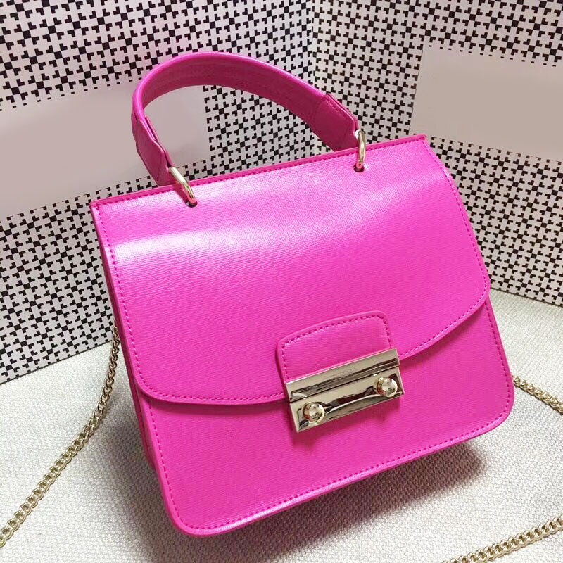 2018 fashion Designer Bags Famous brand Woman Ladies Luxury genuine Leather Handbags Women Messenger Bags Chain Crossbody Bag