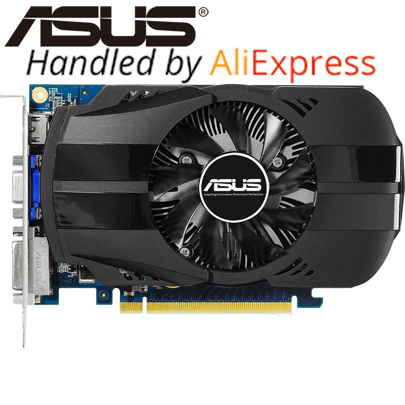 ASUS Video Card Original GTX650 1GB 128Bit GDDR5 Graphics Cards For NVIDIA Geforce GTX 650 Hdmi
