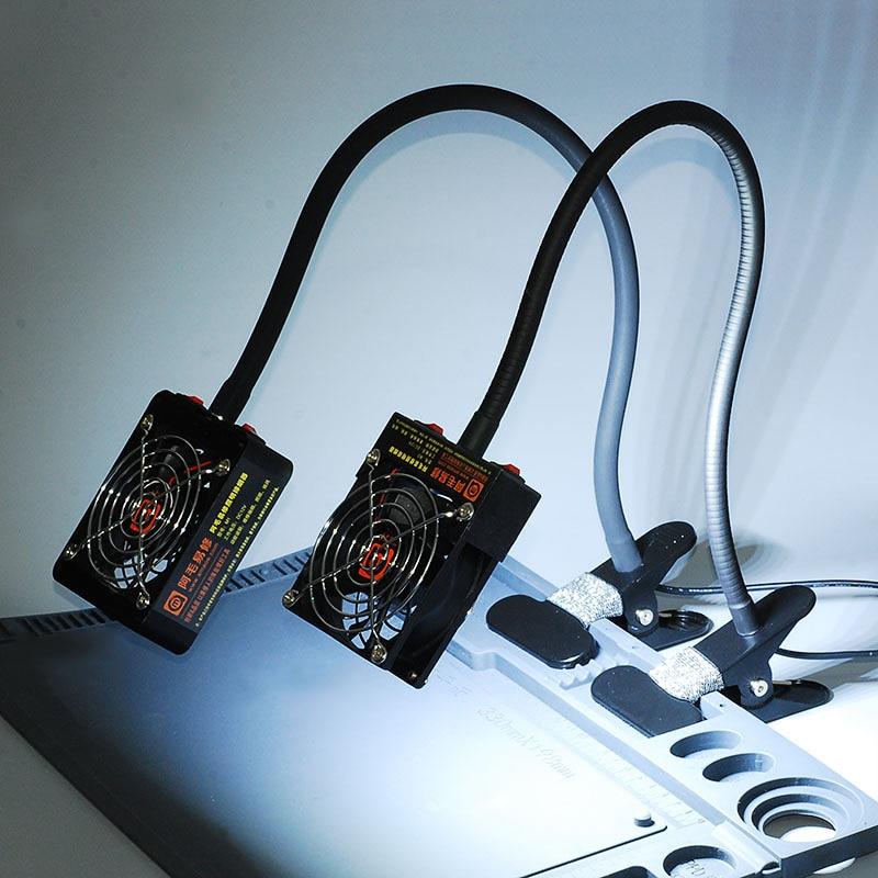 mobilní telefon údržba kouře osvětlení dvojí účelu odsávač - Svářecí technika - Fotografie 5