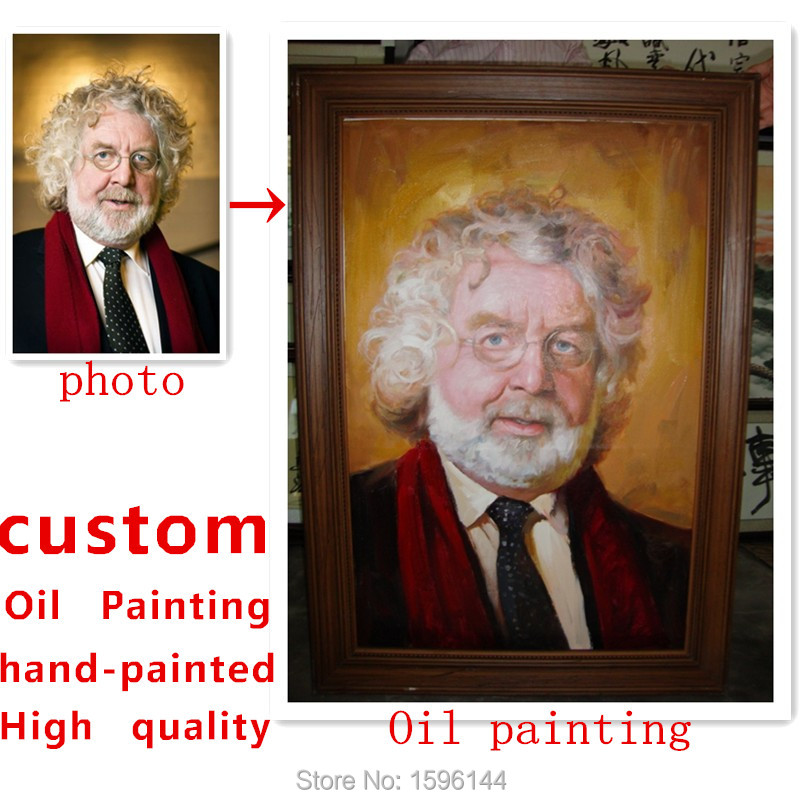 Персонализирана маслена живопис Ръчно рисувана от снимка Копиране на картини Всякакъв размер и Всеки стил
