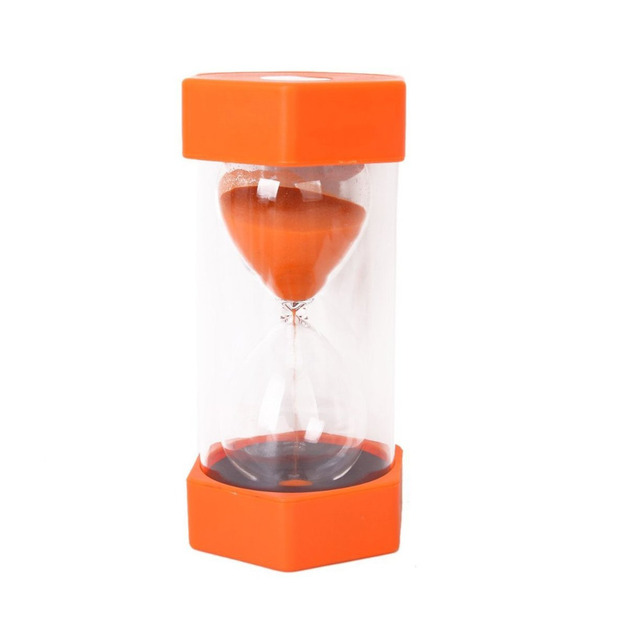 hourglass sandglass sand clock timer 10 minutes cooking party gifts