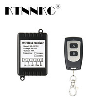 цена на RF1 channel DC12V433Mhz wireless remote control switch with waterproof remote control for controlling motor reversal DIY