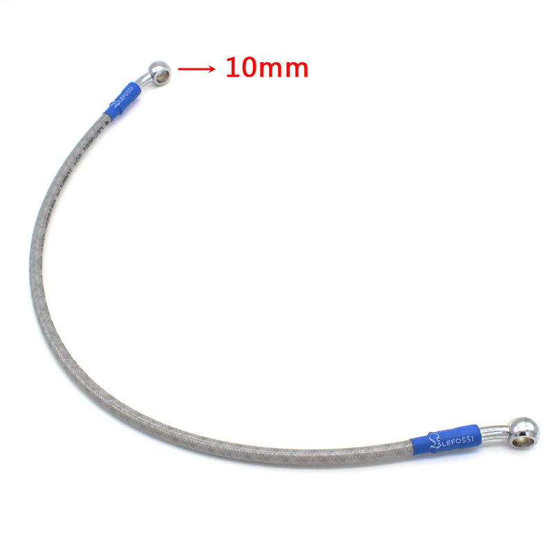 390mm 450mm 500mm Motorcycle Hydraulic Brake Hose Tubing Brake Or Clutch Oil Hose Line Pipe Fit all ATV Dirt Pit Bike 1500mm 2000mm 2300mm motorcycle brake pipe tubing braided steel hydraulic reinforced brake or clutch oil hose line pipe