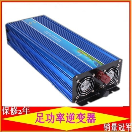 Digital Display 6000W peak 3000W Power Inverter Pure Sine Wave DC 12V to AC 230V 3000W inversor de onda senoidal pura