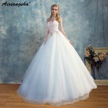aixiangsha 2018 Wedding Dress Elegant Sweetheart Ball Gown
