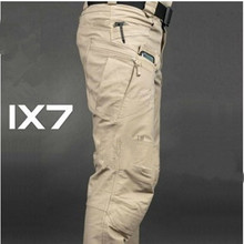 High quality Commander Urban Tactical IX7 Pants Military Combat Army Training Trousers YKK Zipper Cotton Travel Pants