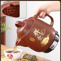 220V Automatic Chinese Medicine Stewing Pot Household 3L/4L/5L Ceramic Decocting Herb Medicine Multi Cooker Electric kettle