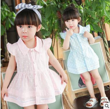 Hot Selling Nice Quality Style Summer Spring Infants Dress Baby Girl Sundress Candy Color Beautiful Princess Cute Dresses Love In Dresses From Mother Kids
