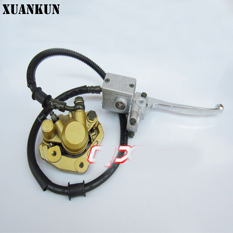 XUANKUN Monkey Bike Small Monkey Motorcycle Front Disc Brake Before The Brake On The Pump Calipers retro retrofit cg125 motorcycle modified front disc brakes disc brake pump disc brake before brake pump