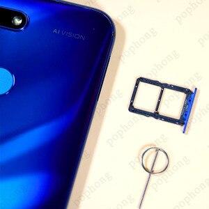 Image 5 - Originele Honor View 20 Honor V20 6 Gb 128 Gb Mobilephone 6.4 Inch Kirin 980 Octa Core Android 9.0 Nfc 4000 Mah