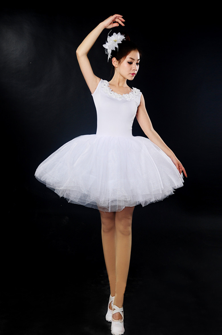 Classical Professional White Swan Lake Ballet Costume Romantic Ballet Tutu Ballet Dresses For Performance Adult Ballet Tutu