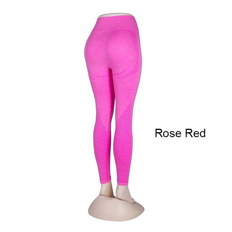 Kaminsky 14 Colors High Waist Seamless Leggings For Women Solid Push Up Leggins Athletic Sweat Pants Sportswear Fitness Leggings