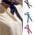 Mulheres Gravata borboleta Acessórios de Moda Cor Sólida Longo Pescoço Laços Laços Jóias Rua Moda Feminina Clássica Suprimentos de Vestuário