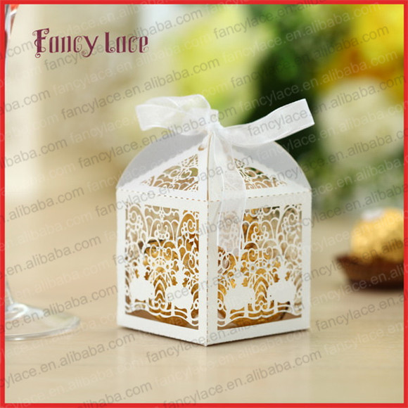 50 år gifta ᐂ50pcs Laser Cutting Elephant Candy Box Baby Shower Paper Gift  50 år gifta