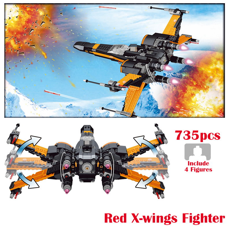 LELE Star Series Wars The Rogue One X Wings Fighter Set Starwars Building Blocks Bricks Marvel Military Toys for children Gift black pearl building blocks kaizi ky87010 pirates of the caribbean ship self locking bricks assembling toys 1184pcs set gift
