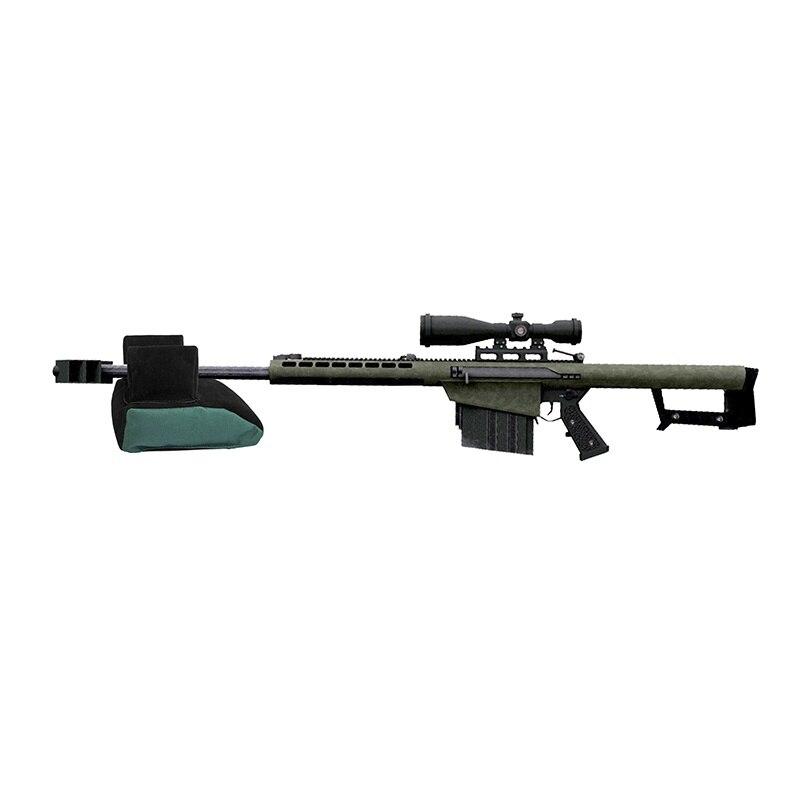 2018 New Unfilled Rear Shooting Bag Tatical Front / Rear Bag Support Rifle Sandbag Rest Sniper Hunting Stand Bag Shooting Bag