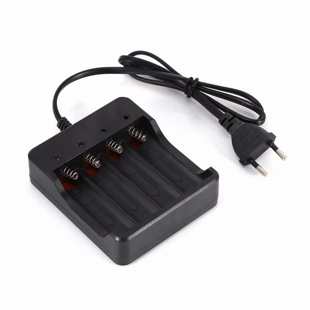 3,7 V 18650 зарядное устройство DC 4,2 V 1200mA литий-ионная батарея 4,2 V Четыре слота Линейный зарядное устройство для светодиодного фаслайта 4X18650 зарядное устройство