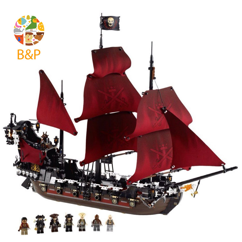 lepin Legoing 4195 1151Pcs Movies Series Revenge Pirates of the Caribbean Model Building Block Bricks Toys for Children 16009 купить в Москве 2019