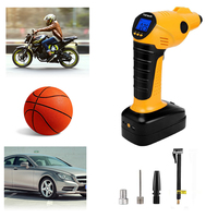 Fineed new arrival air compressor portable handheld cordless car compressor with 2000mAh battery 150PSI