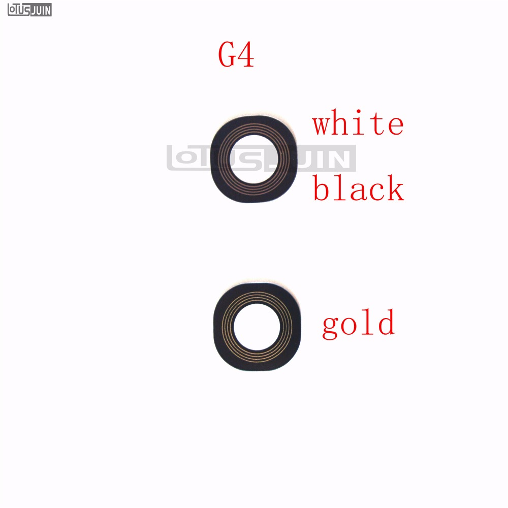 2PCS Rear Back Camera Glass Lens Cover For LG G4 H810 H811 H815 F500 Repair Spare Parts image