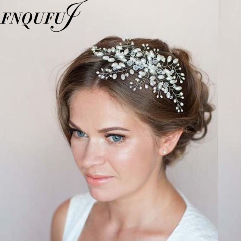 Jewelry Hair-Accessories Barrettes Crystal-Hair-Comb Hairpin Rhinestone Bride Wedding