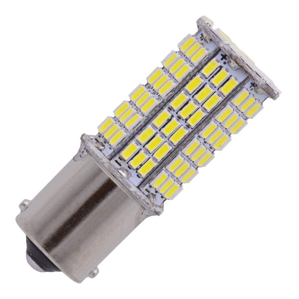 1pcs Super White 1156 BA15S 1141 1003 7506 3014 144SMD LED Bulb CanBus Error Free Turn Signal Back Up Reverse Brake Tail Light magnat quantum 1003 s white