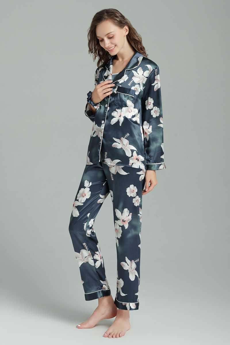 ... Sleepwear 7 Pieces Pyjama Set 2018 Women Autumn Winter Sexy Pajamas Sets  Sleep Suits Soft Sweet ... 2244d4744
