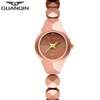 Top Brand Luxury GUANQIN Women S Watches Fashion Relogio Feminino Tungsten Steel Quartz Watch Ladies Casual
