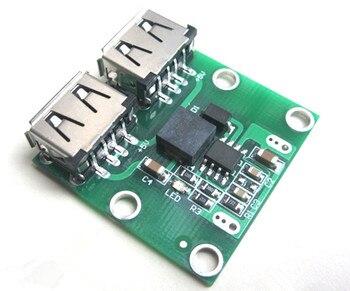 9V 12V 24V to 5V DC-DC Step Down Charger Power Module Dual USB Output Buck Voltage Board 3A Car Charge Charging Regulator 6-26V