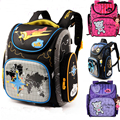 2016 Children School Bags Waterproof Foldable Orthopedic Backpack Schoolbag Portfolio Mochila Infantil with Doll Decoration