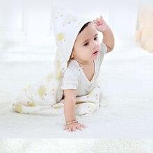 Lautata 6Layers Gauze 100 Cotton Baby Newborn infant Swaddling Baby Bath Towel Wrap Swaddle for Cozy
