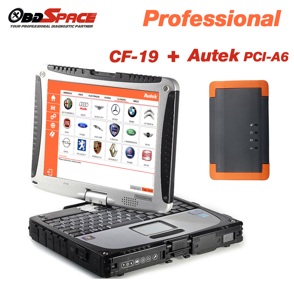 Autek PCI A6 Key Programming EPB Update Online English Spanish OBD2 Code Reader Professional Automotive Tool