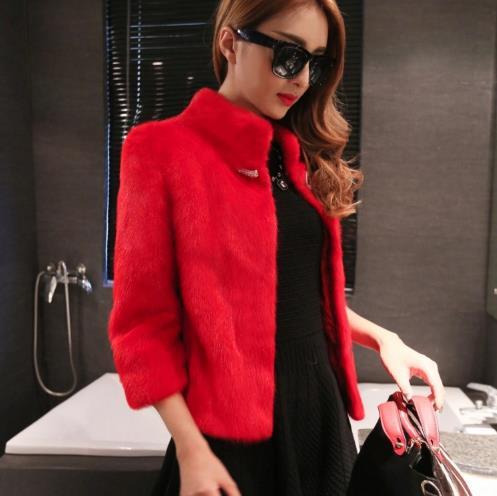 Manteau Z117 Fausse Veste 2019 En De Artificielle Femmes Outwear Furry Taille D'hiver Femme Faux Fourrure Nouveau Grande wSazCqXw