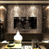 Embossed 3D Effect Ancient Egyptian Wallpaper Brick Stone 3D Vinyl Wall Papers Home Decor