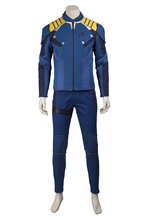 New Star Trek Beyond Captain Kirk Cosplay Costume Star Trek Uniform Costume Suit Halloween Costumes for Adult Men Customized