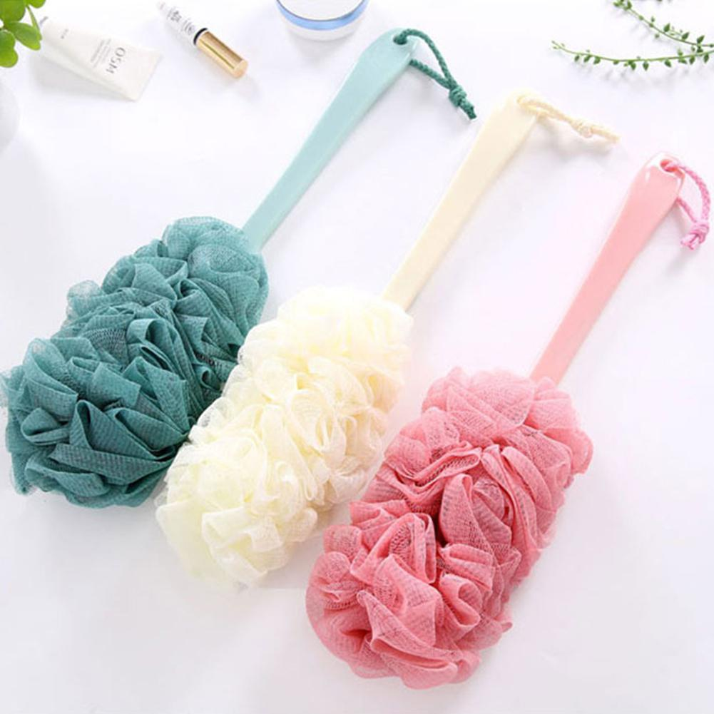 VIBRANT GLAMOUR Bath Brush Long Handle  Natural Bristles Body Brush Scrubber Skin Massage Body Brush For Exfoliation Brushes