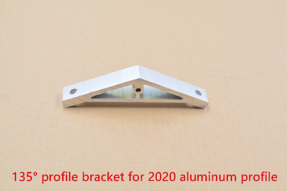 Adapting Piece 135 Degree Inscribed Corner Bracket Angle Connection For 2020 Aluminum Profile 1pcs