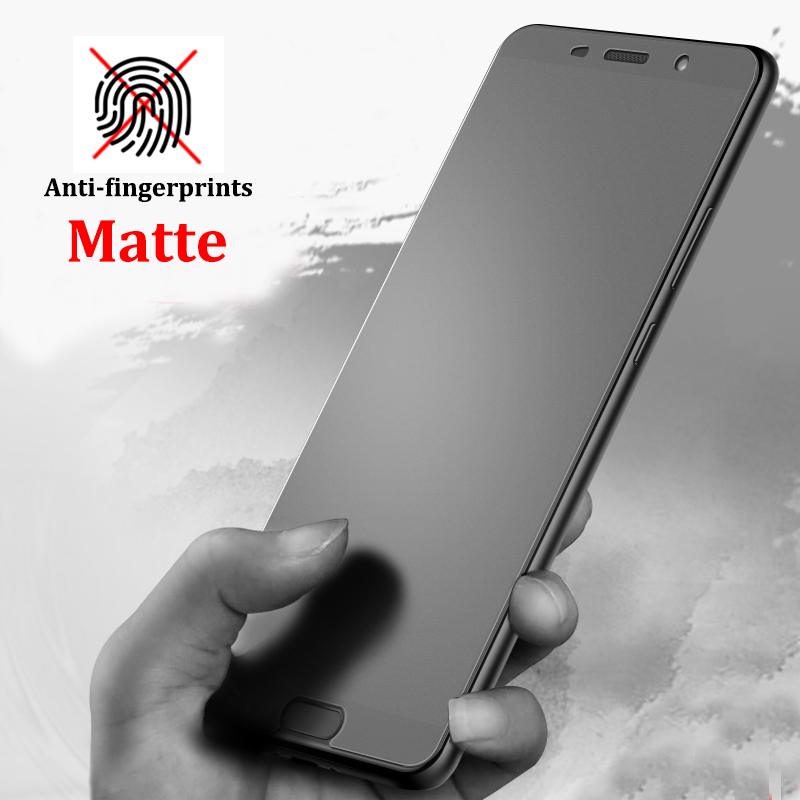 Tempered-Glass Screen-Protector Frosted No-Fingerprint Huawei P20 Smart-Plus Pro-Lite-P