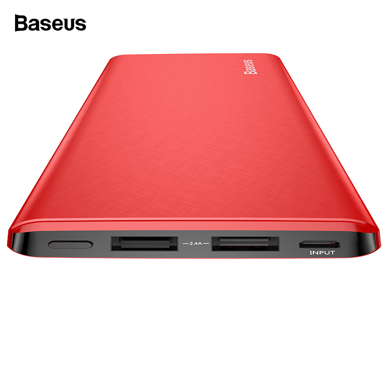 Power Bank Für Xiaomi Mi Iphone Handys & Telekommunikation Handy-zubehör Usams Mi Ni Pover Bank 10000 Mah Led-anzeige Power Externe Batterie Poverbank Schnelle Lade