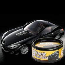 Черный воск для ухода за автомобилем, водостойкая пленка, покрытие, твердый воск, краска, ремонт, удаление царапин, пятен